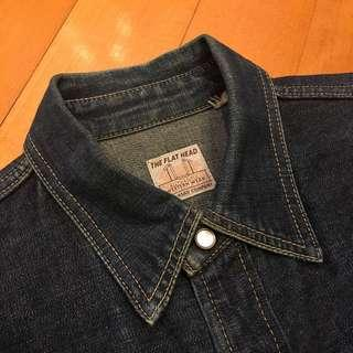 The Flathead Denim Cowboy Shirt McCoys Buzz Redmoon Goros fa