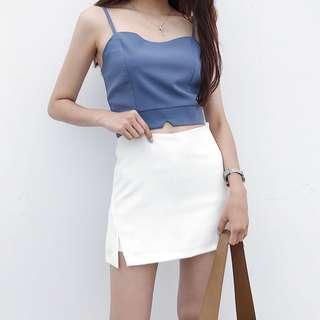 • Preorder • Basic Slit Skirt