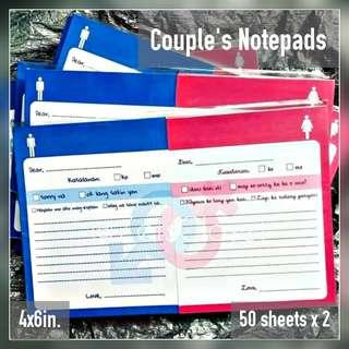 Couple's Notepads