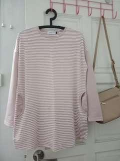 Light pink soft cotton top