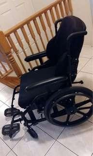 18 inch Wheel Chair with Seatbelt