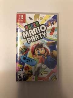 WTS- Super Mario Party Nintendo Switch