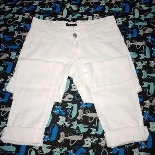 FREE ONGKIR!! Jeans Putih