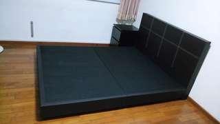 House moving - queen size divan and 20 cm foam mattress