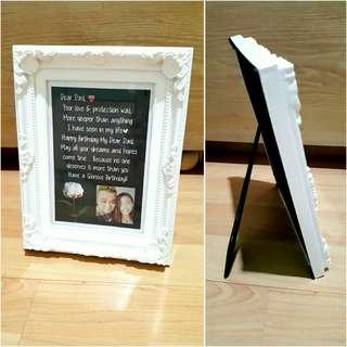 🚚 Frame with custom message