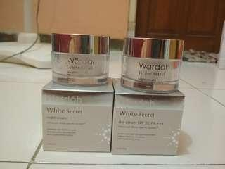 Paket Day and Night Cream White Secret Wardah
