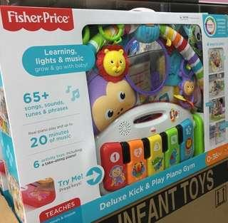 FISHER-PRICE: DELUXE KICK & PLAY PIANO GYM