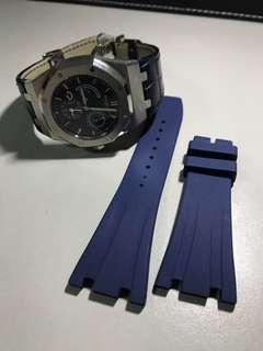 Vagenari 26mm Blue Strap for Audemars Piguet