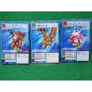 (S) Garudamon Evo Set + Free 5 Random Cards Digimon TCG