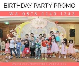 Promo birthday party pesta Ulang Tahun