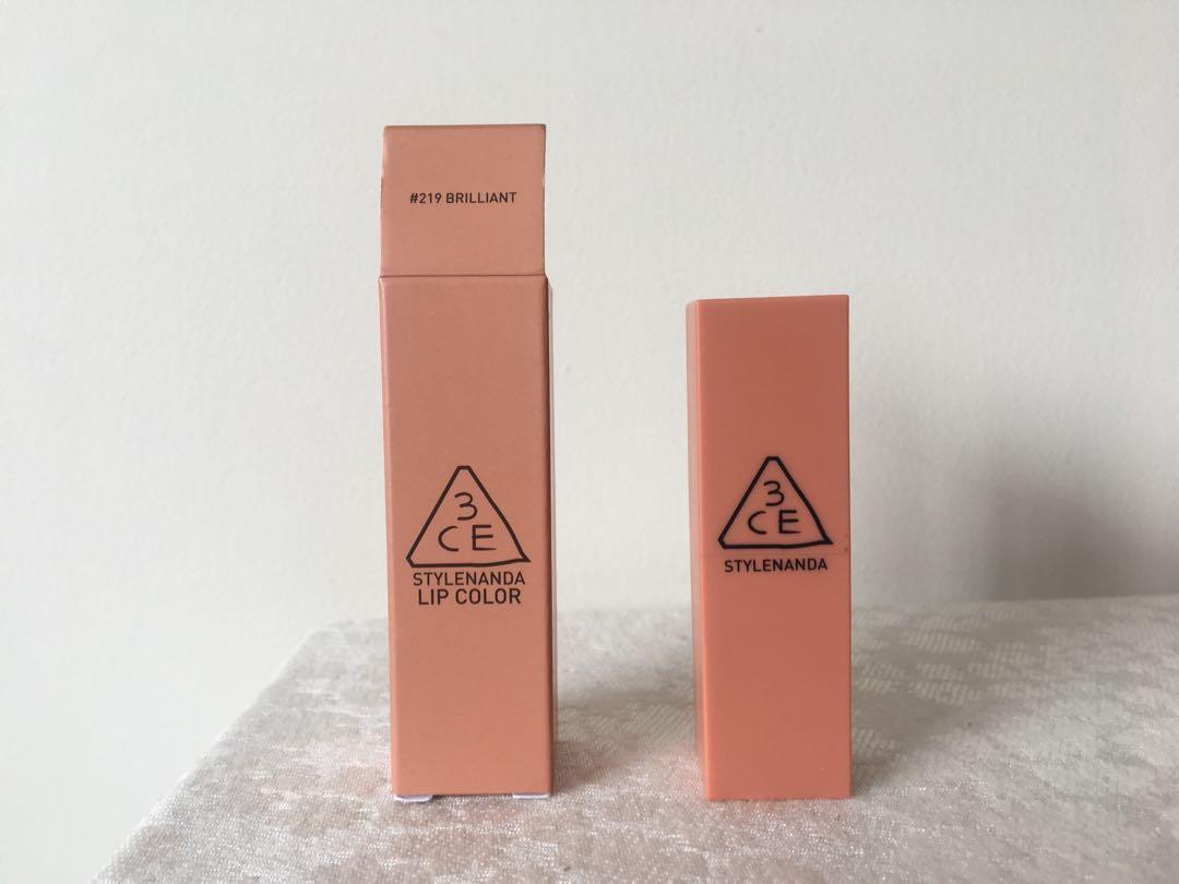 3CE Mood Recipe Lipstick #219 Brilliant