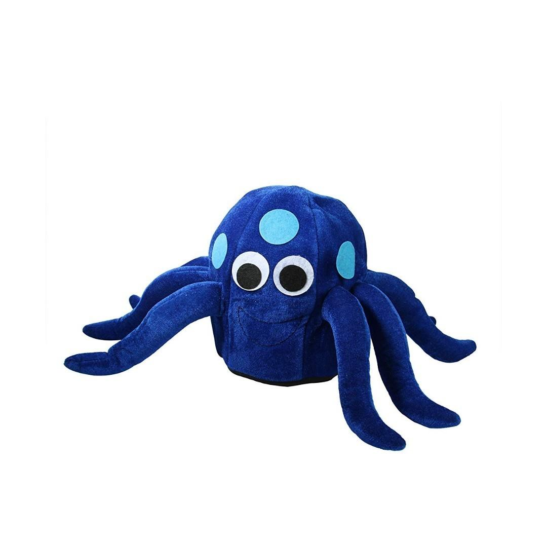 分享這則刊登內容    公開留言  搶先留下公開留言。提出問題或 @標示朋友過來看看!  (Hot sales)Blue octopus Halloween funny hat🐙🐙🐙(😍Big discount😍)