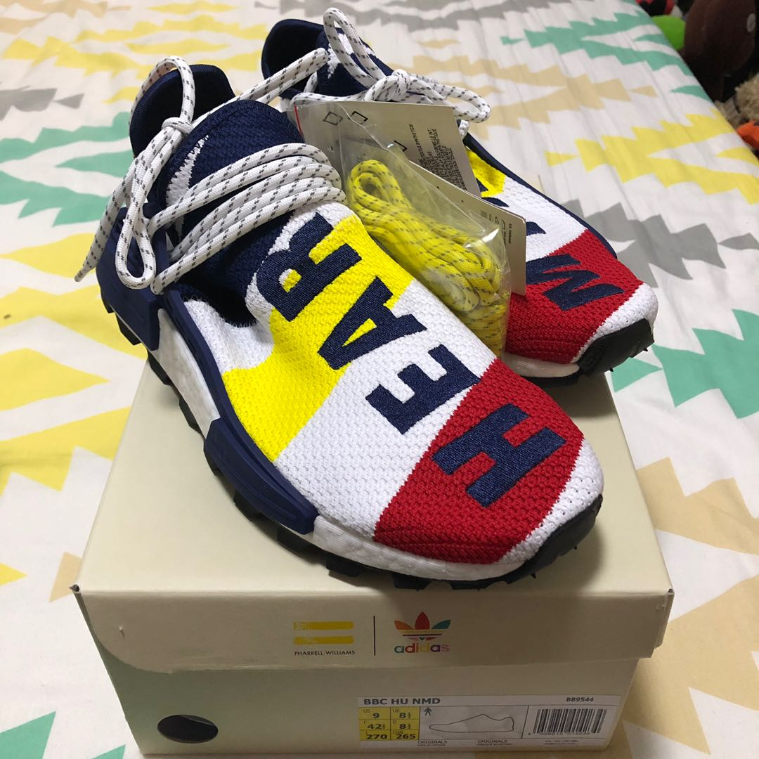 95f6b9e9b Adidas NMD Human Race BBC