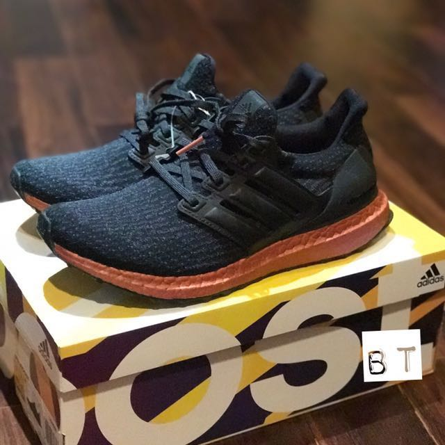 online store 18d8b 531c4 ADIDAS ORIGINALS ULTRA BOOST 3.0 PK  TECH RUST  US8, Men s Fashion ...