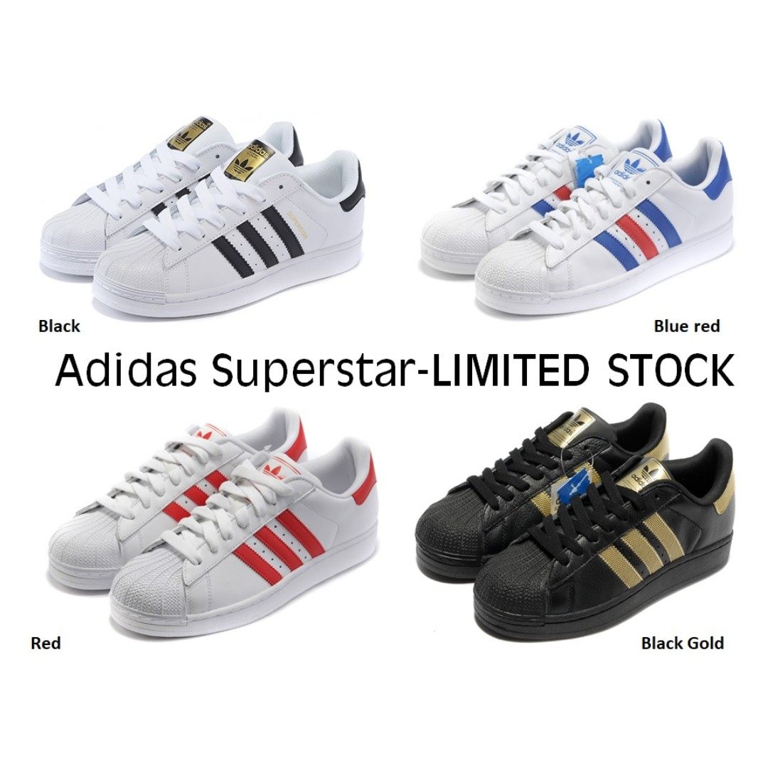 54a2f19a Adidas Superstar shoes (LImited Stock and Sizes), Women's Fashion ...