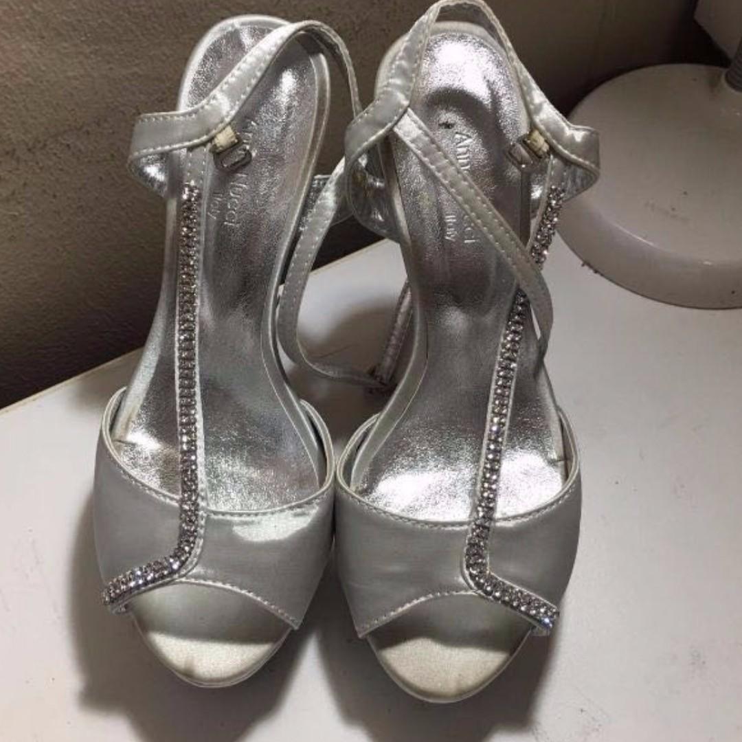 1c4846dcdeb Anna Nucci Swarovski Crystal High Heel