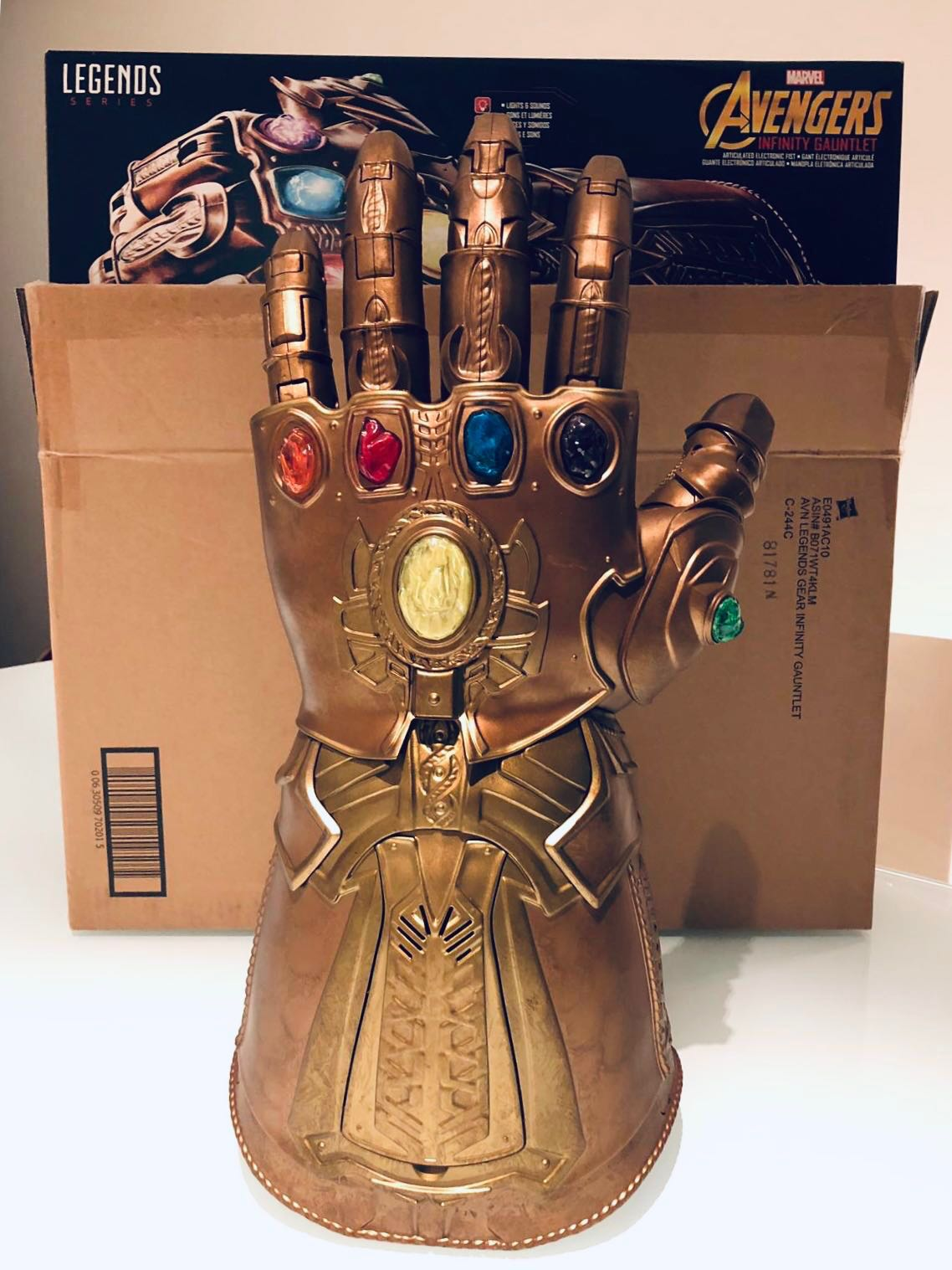 BEST DEAL! Avengers Infinity Gauntlet Electronic Fist
