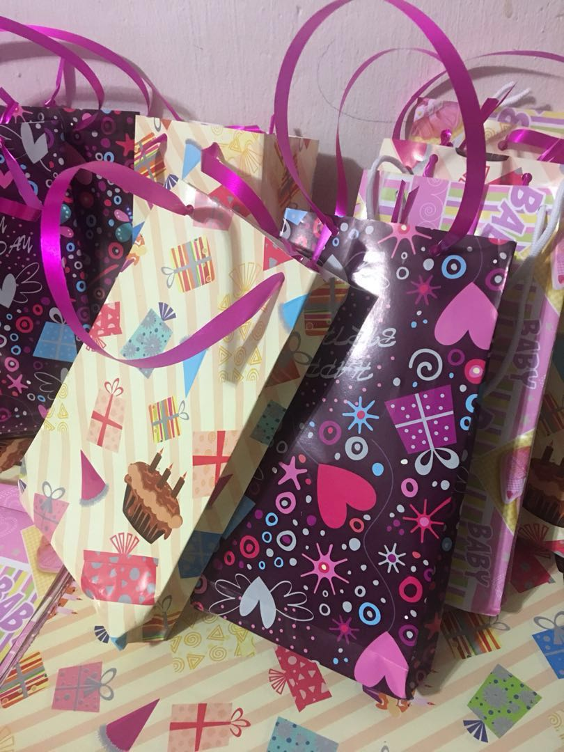 Birthday Paper Goodie Bags Design Craft Handmade On Carousell