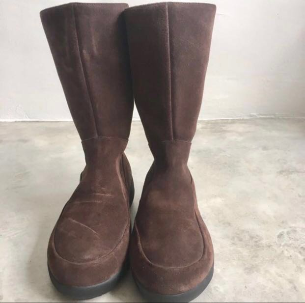 07dfe5b773a BN Fitflop Authentic Leather Boots