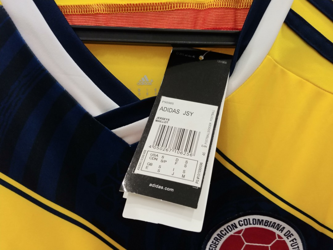 196603c44 BNWT James 10 Colombia Football Jersey World Cup
