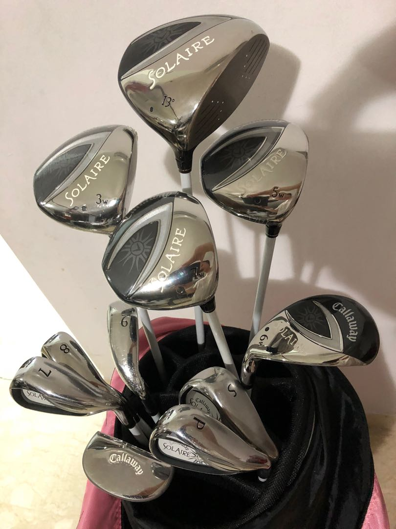Callaway Solaire Ladies Golf Set Sports Sports Games Equipment