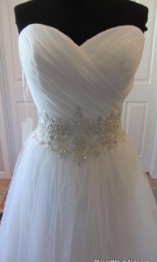 Casablanca diamond collection wedding dress
