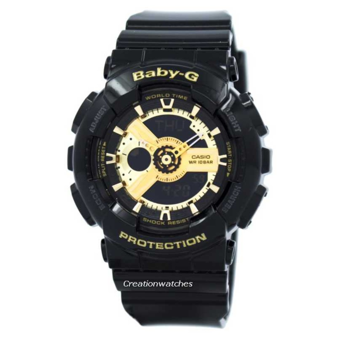 0652947aa Casio Baby-G World Time Analog Digital BA-110-1A BA110-1A Women's ...