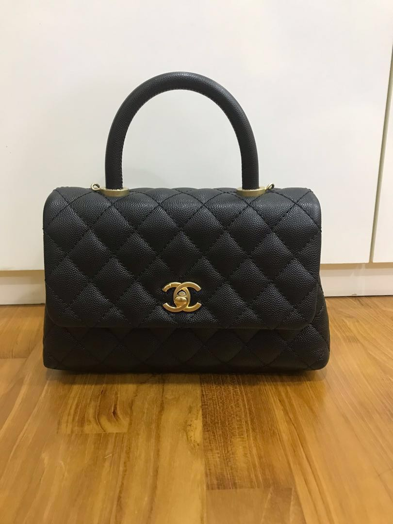 c5fea019389f Chanel Coco Handle Mini, Luxury, Bags & Wallets, Handbags on Carousell