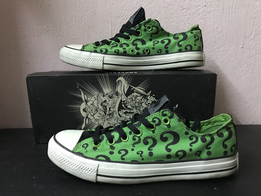 67e5f8bceb76 Converse DC Comics The Riddler