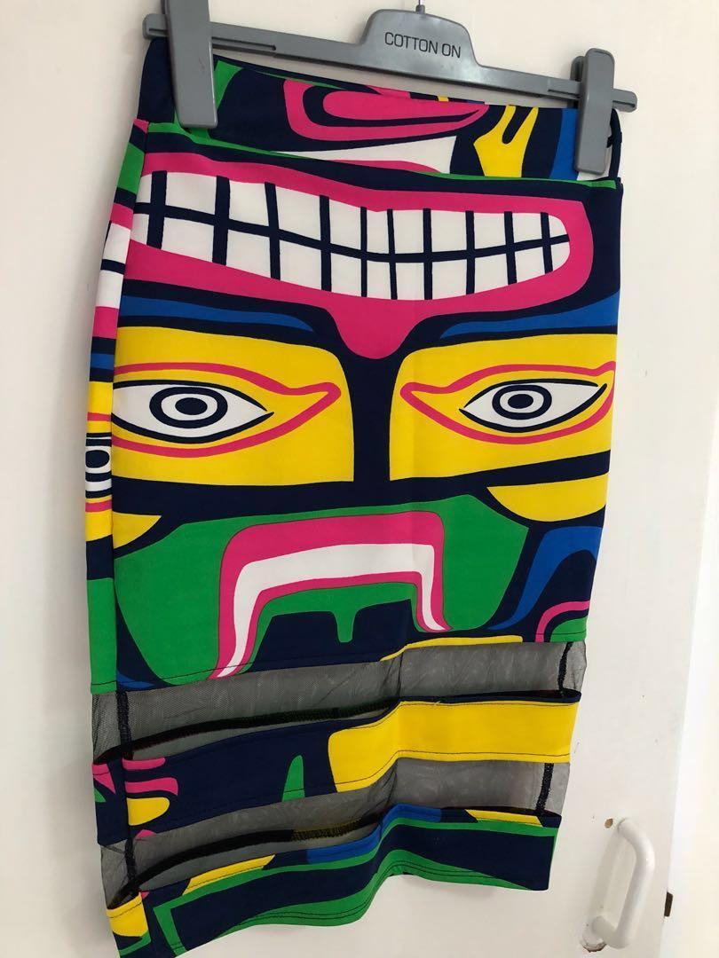 cute pencil skirt and top