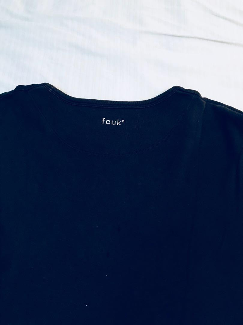 FCUK French connection T-shirt T恤 L號 素T