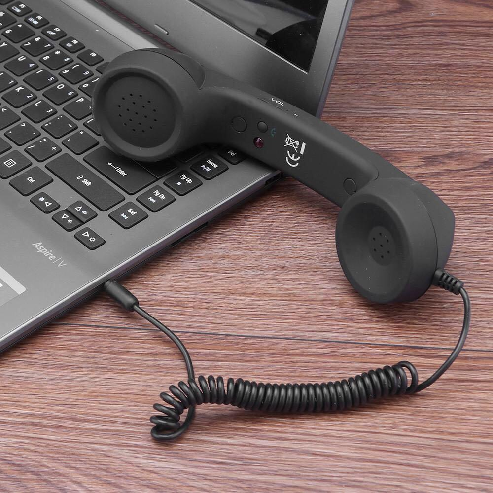 Fornorm Retro Telephone Handset For iPhone and Android