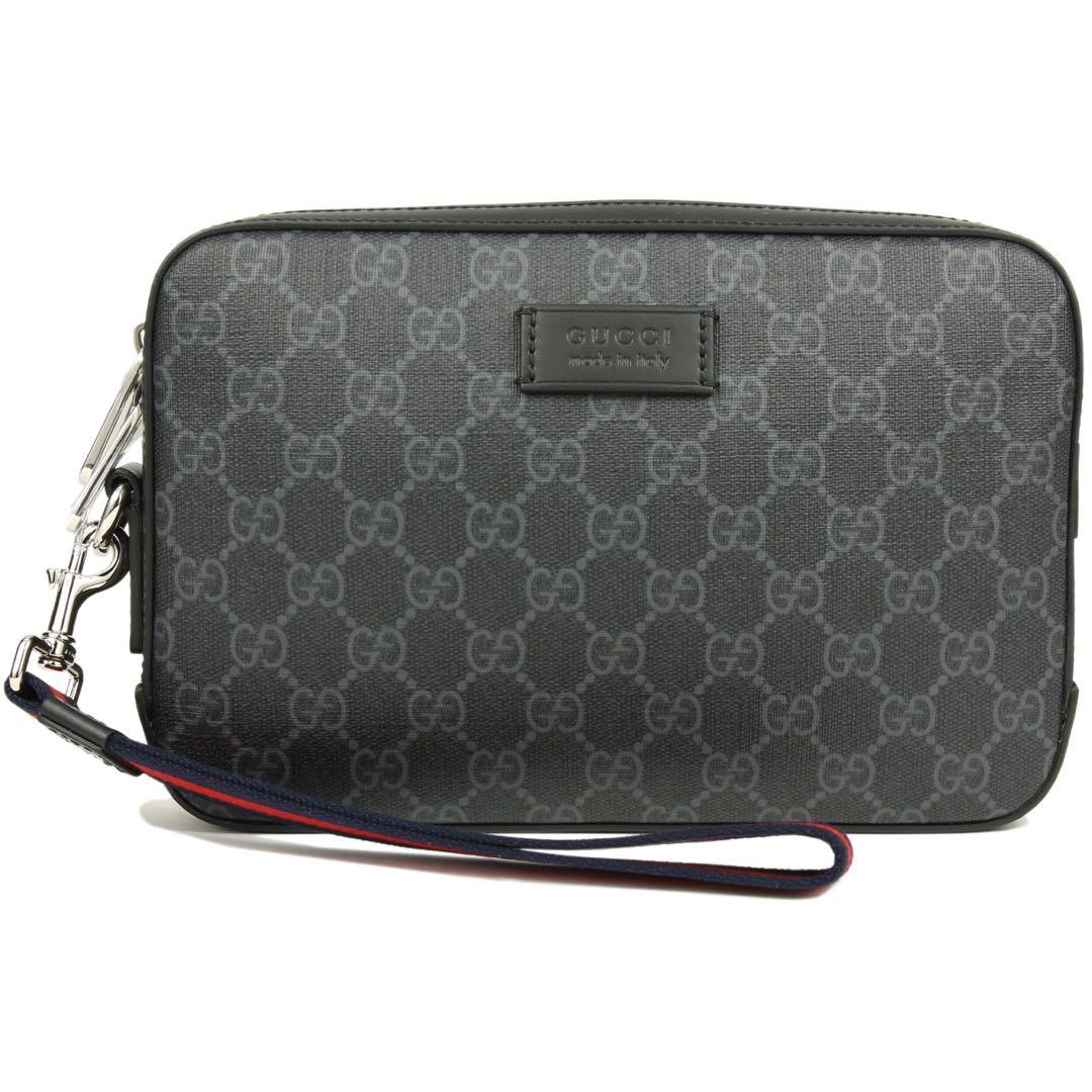 2c8c3474f85b Gucci GG Supreme Clutch Bag