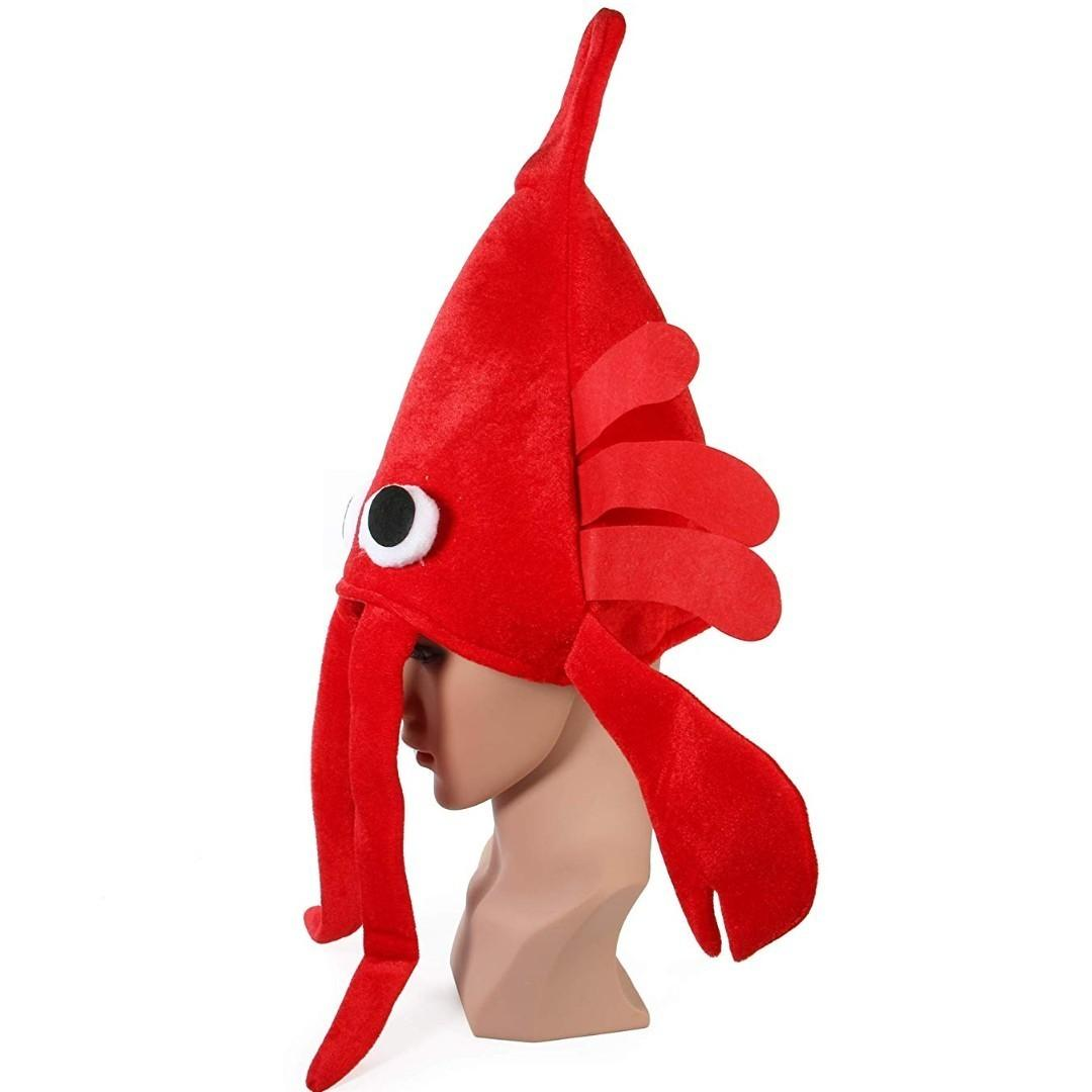 (Hot Sales)Red Lobster Halloween funny hat🦐🦐🦐🦐🦐(😍Halloween Big discount😍)