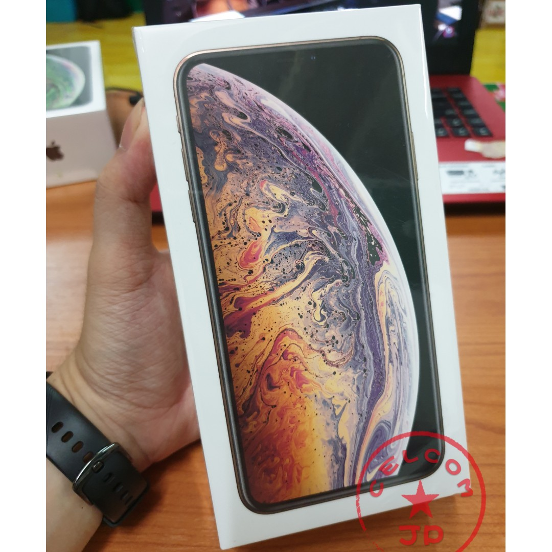 b82abbee2f5 IPHONE XS MAX 64GB 256GB 512GB GOLD WITH CELCOM EASY PHONE PLAN, Mobile  Phones & Tablets, iPhone, iPhone X series on Carousell