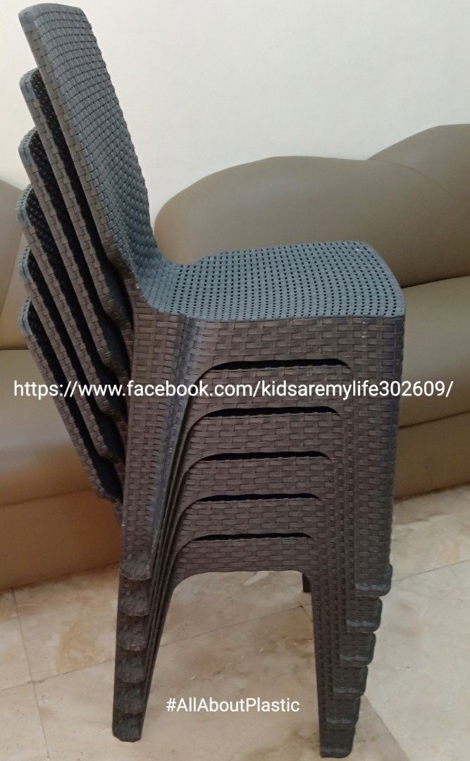 Jolly Rattan Chairs Home Furniture On Carousell