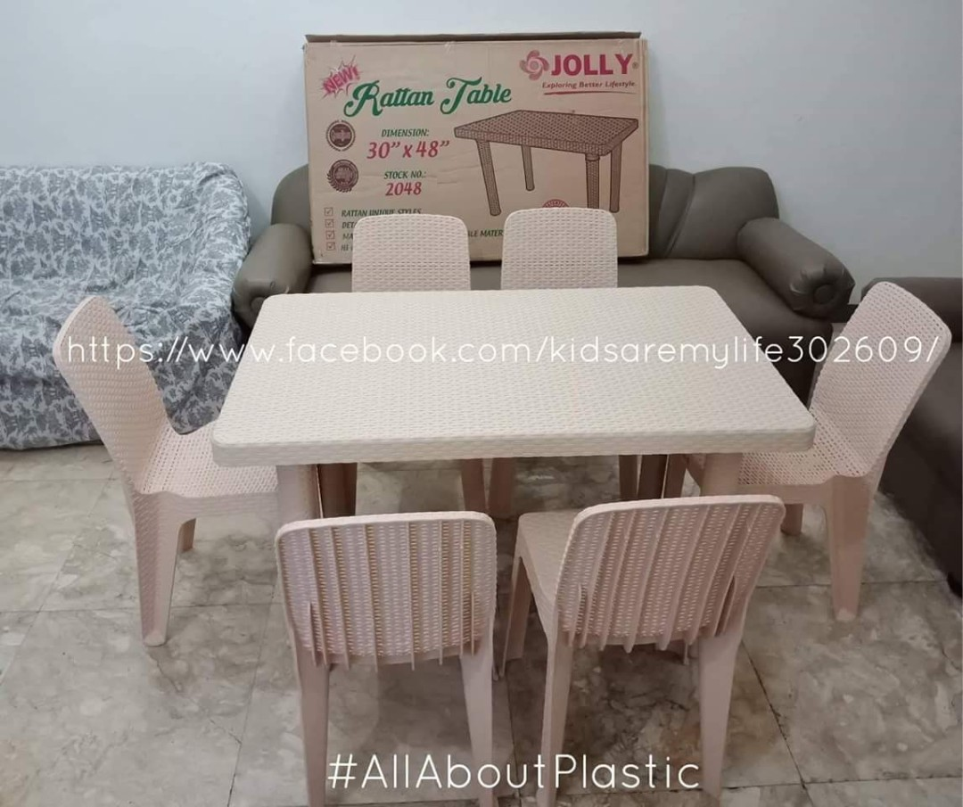 Jolly Rattan Tables Chairs Home Furniture On Carousell
