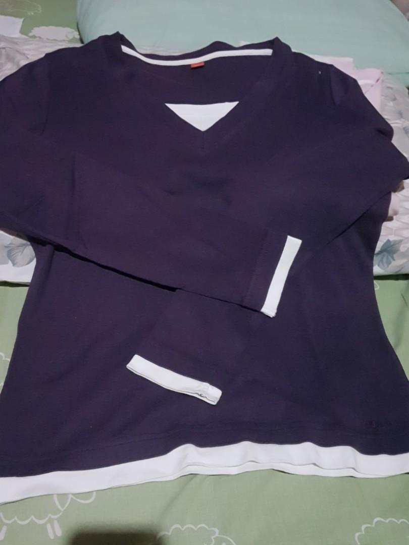 Kaos tangan panjang