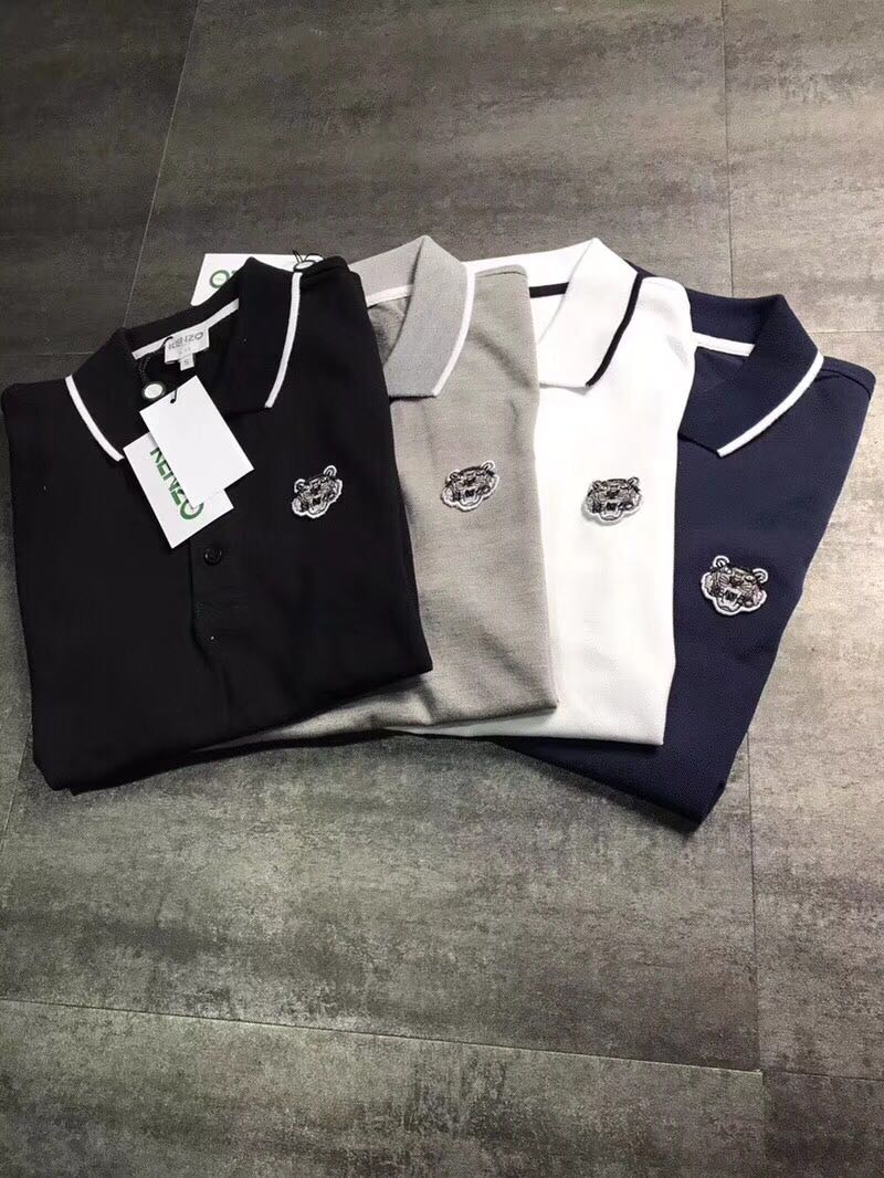 8e60efd4d49f1 Kenzo Polo Shirt, Men's Fashion, Clothes, Tops on Carousell