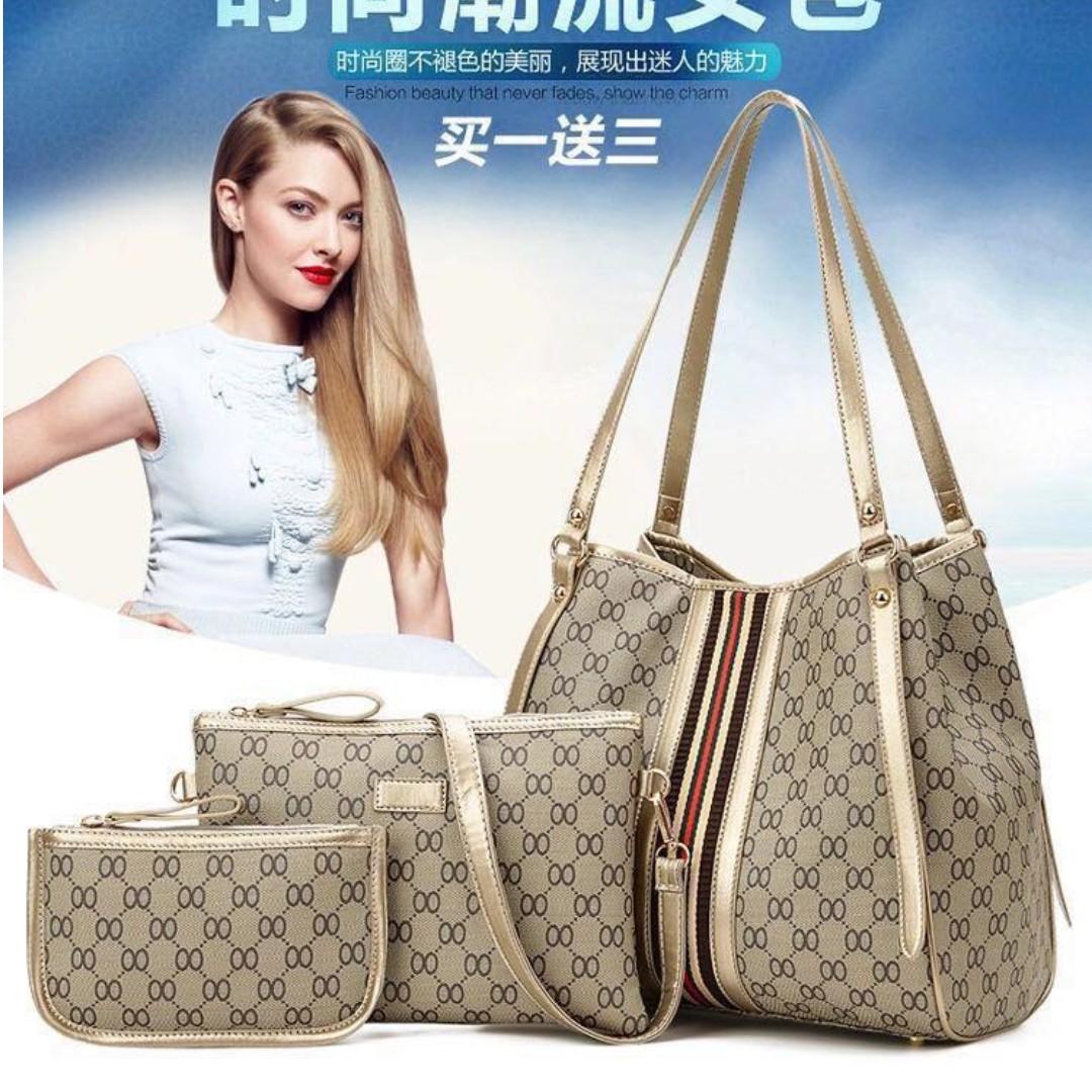 418f8ca654 Korean 3in1 Shoulder Bag