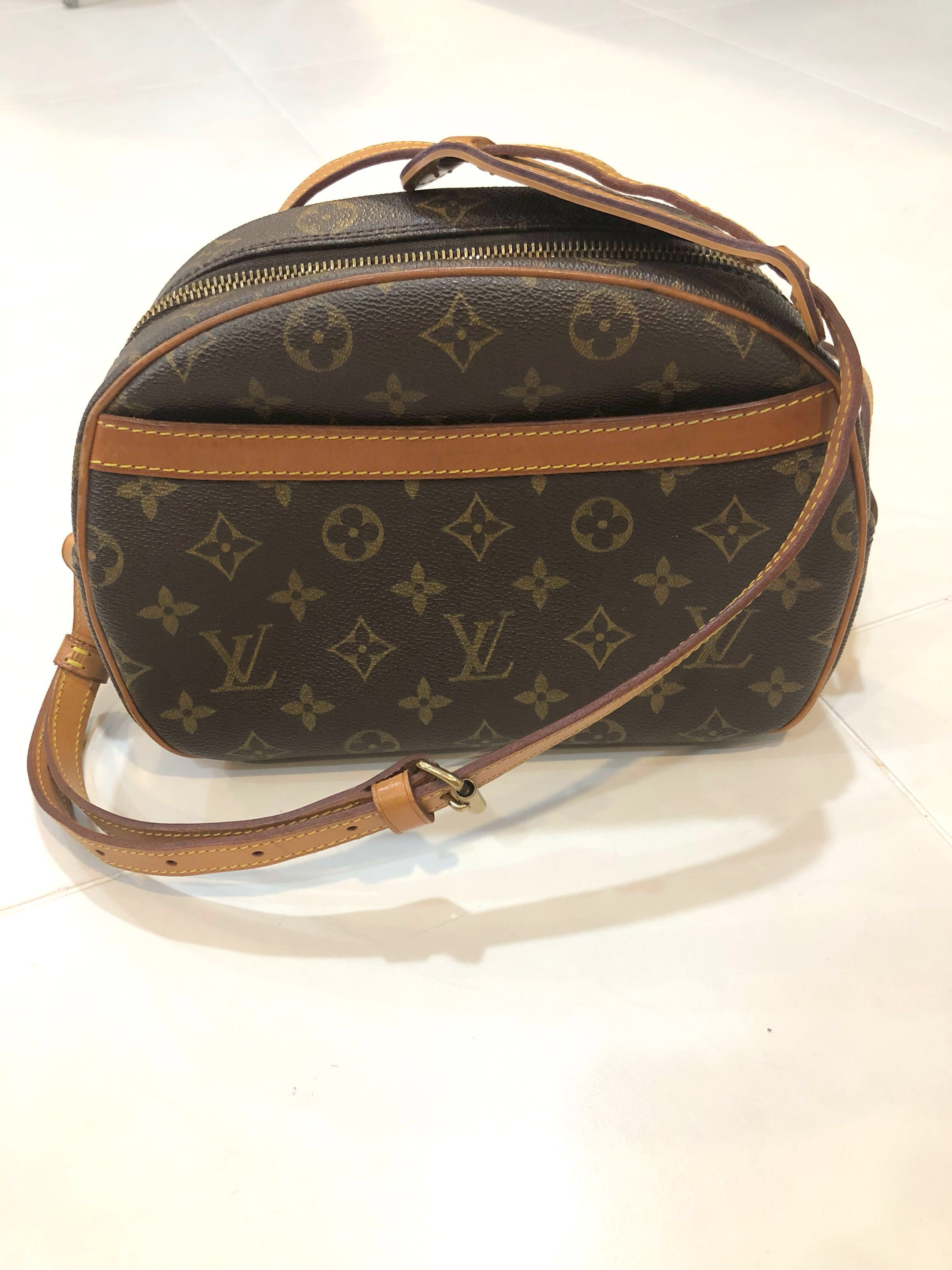 8bebb513036c Louis Vuitton Blois Sling Bag Authentic