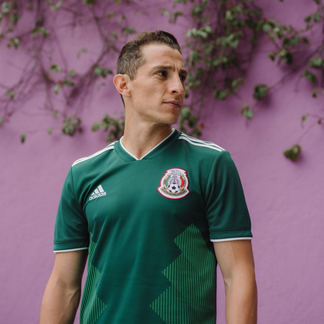 df9bdcc8fca Mexico 2018 World Cup Home Football Jersey, Sports, Sports Apparel ...