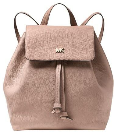 6b5bbf070558c0 ♥ Michael Kors Junie Medium Pebbled Leather Backpack, Women's ...