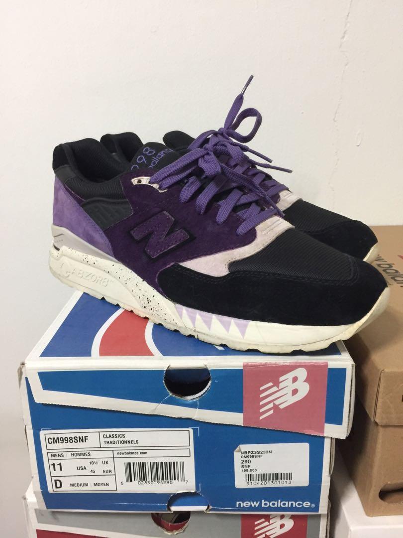 obtenir pas cher 50607 3b032 New Balance 998 X Sneaker Freaker Tassie Devil, Men's ...