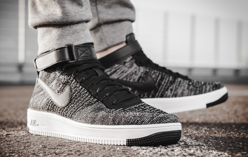 new arrivals 2c65a 05cc8 Nike Air Force 1 Ultra Flyknit Oreo Mid-Cut, Men s Fashion, Footwear ...