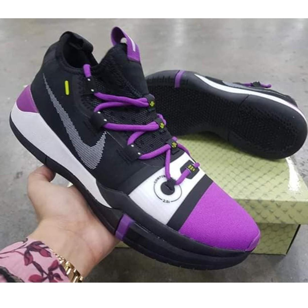 cheap for discount 554d3 92f67 Nike Kobe AD Exodus Purple Black K- KOBE BASKETBALL SHOES on Carousell