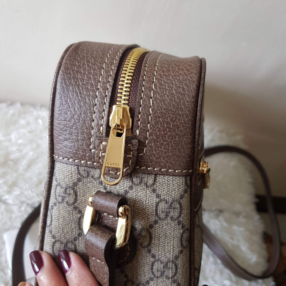 5ec72933247 ON HAND  Authentic Gucci Ophidia GG Supreme Small Shoulder Crossbody ...