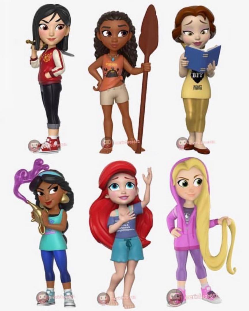 Nouveau Rock Candy-Comfy Princess Rapunzel