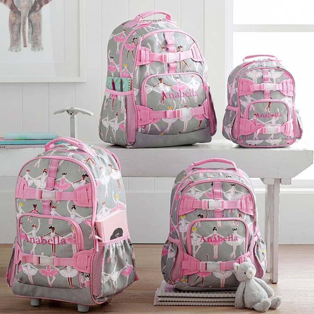 54dec0153b43 Pottery Barn Mackenzie Glitter Ballerina Backpacks