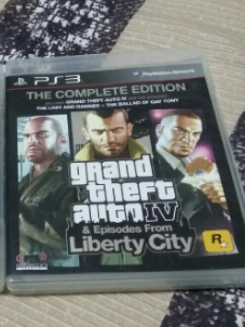 PS3 - GTA IV(GTA 4 & Episodes from Liberty City, Complete Edition)